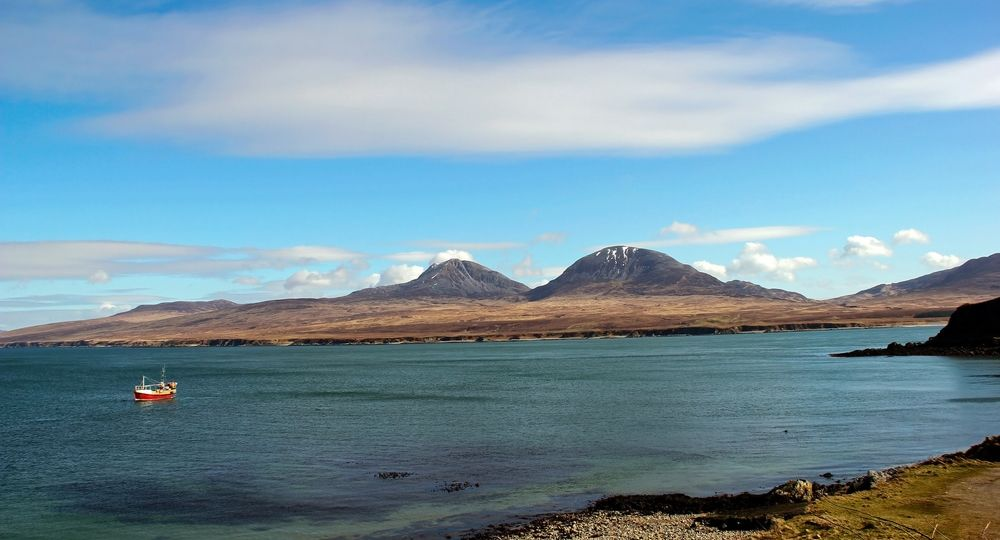 Looking Over to Jura from The Isle of Islay